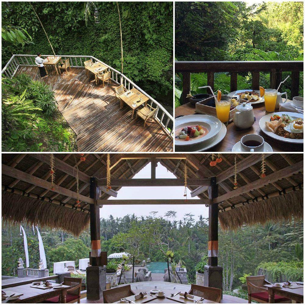 12 Restaurants Di Bali Dimana Kamu Bisa Makan Ditemani Pemandangan Yang Ajaib Ubud Pemandangan Bali
