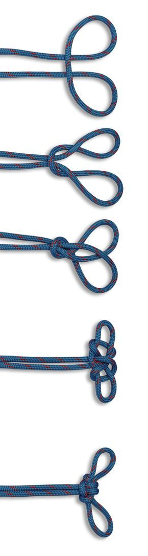How to tie a Spanish Bowline