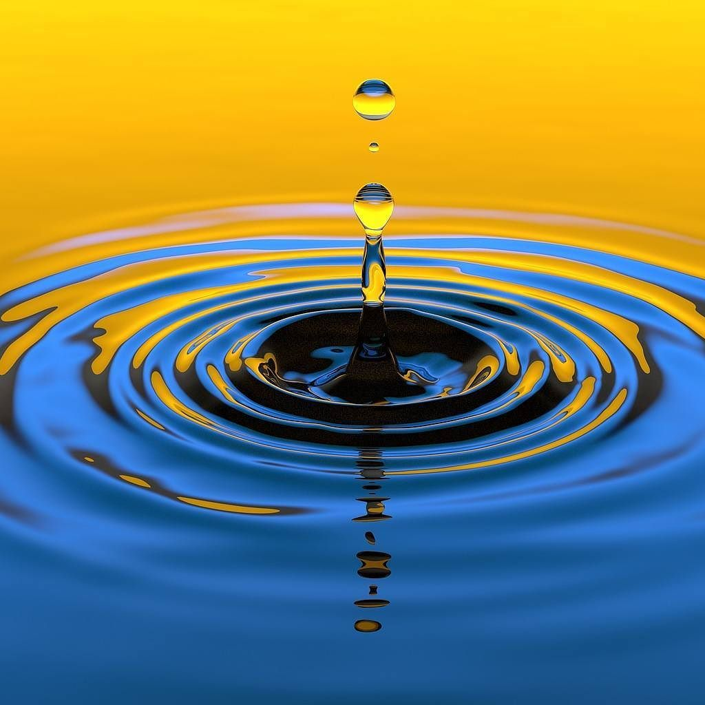 Learn to paint Water Drop Ripples with acrylics this ...