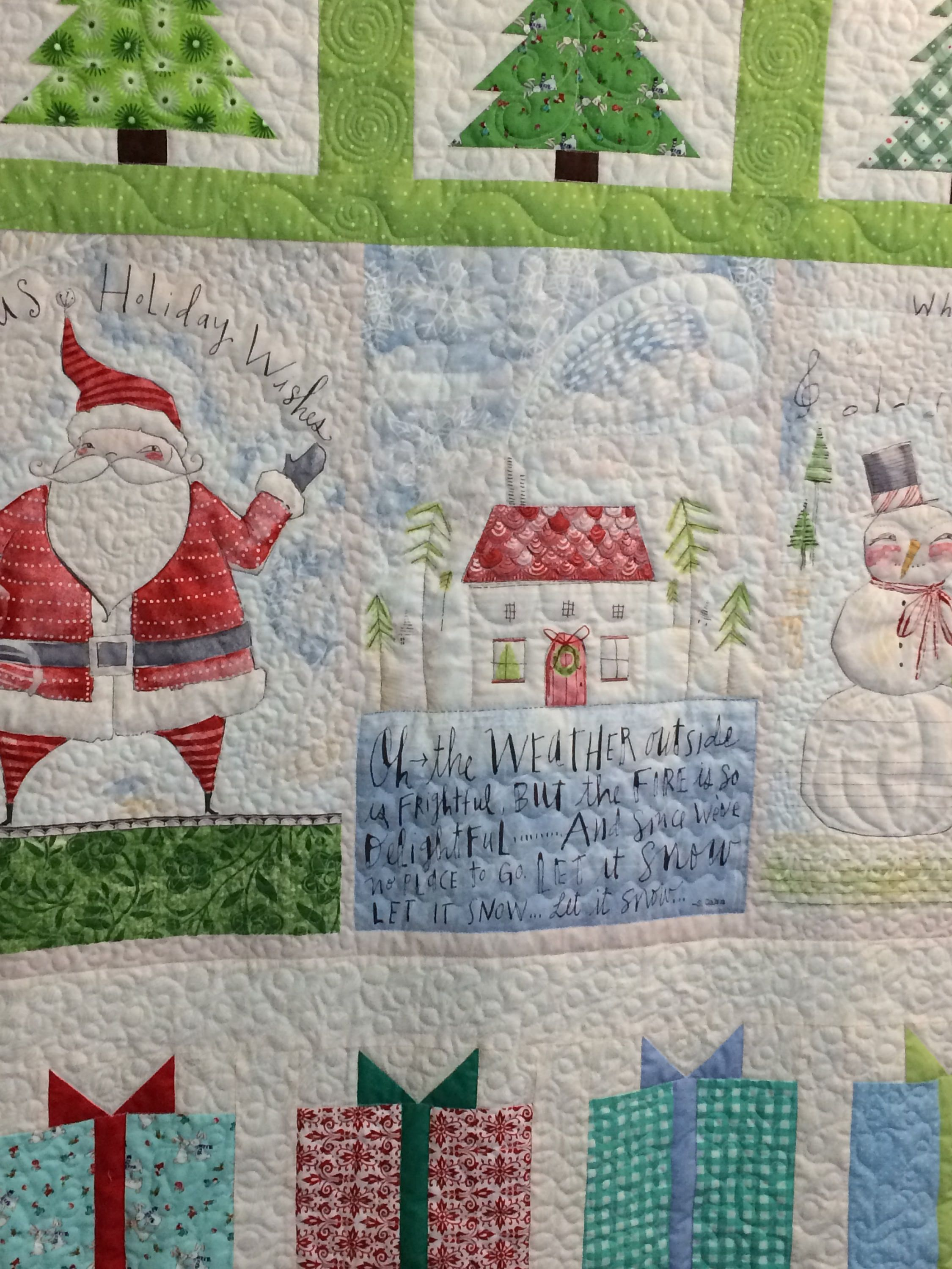 Let it Snow quilt/quilts for sale/holiday quilt/Christmas quilt/52 ...