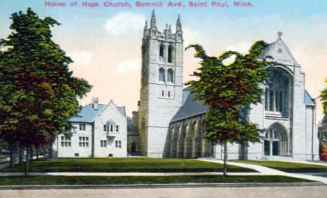 House Of Hope Church Summit Avenue St Paul Minnesota 1916 St Paul Minnesota Minnesota Old Photos