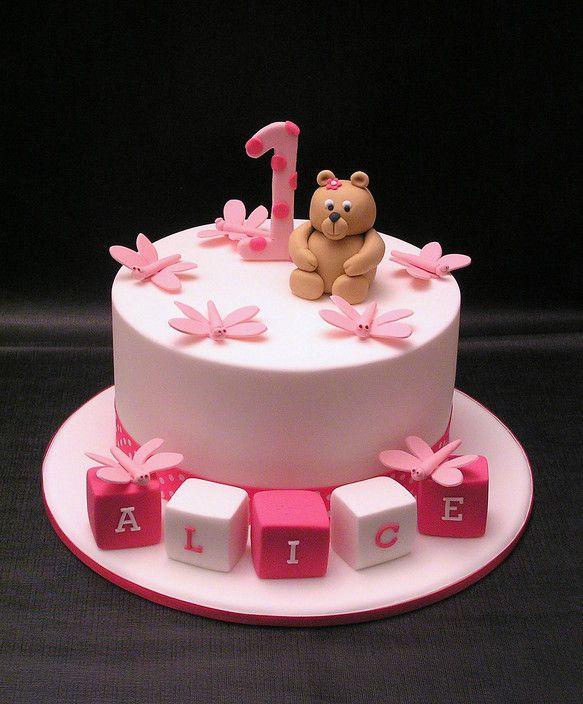 First Birthday Cake Baby Birthday Cakes Cake Designs For Kids