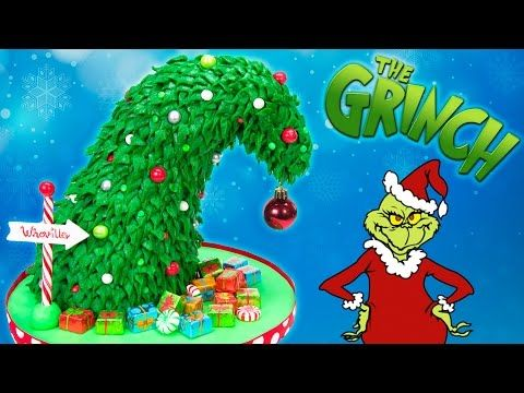 grinch christmas tree cake how the grinch stole christmas cake youtube - How The Grinch Stole Christmas Youtube