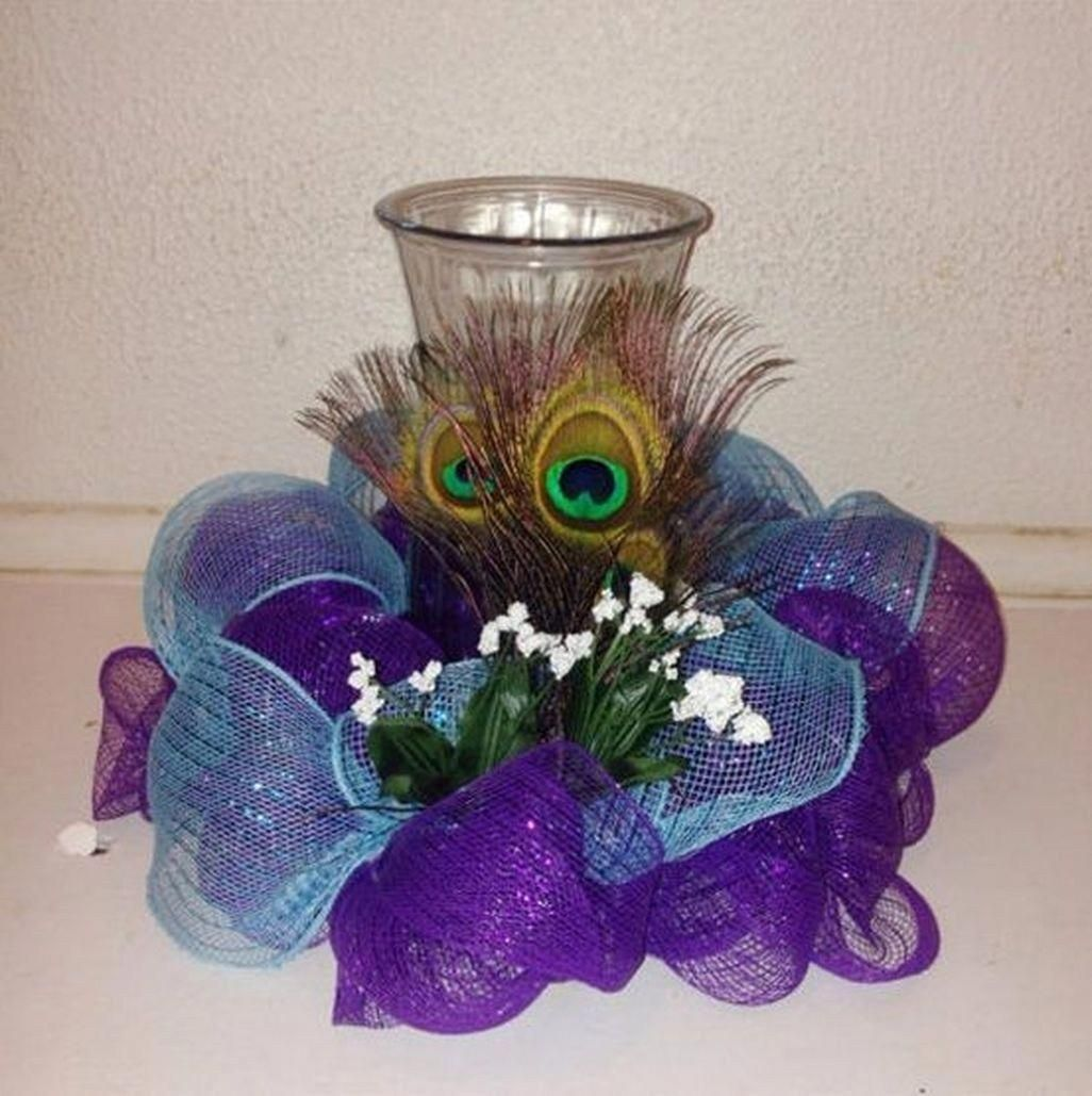 Unique Peacock Wedding Ideas: Floral Wedding Centerpieces Planning And Tips