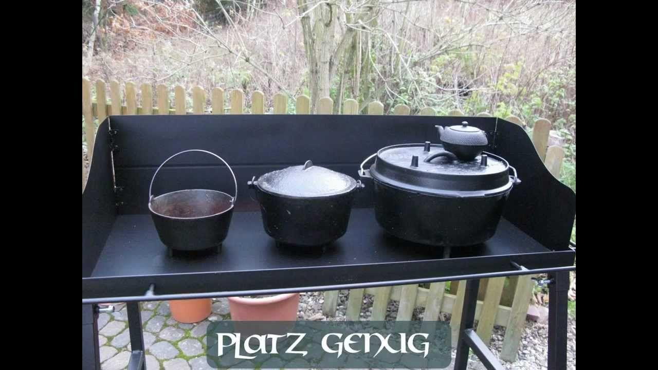 Dutch Oven cooking table - Kochtisch von Michel vom Berch