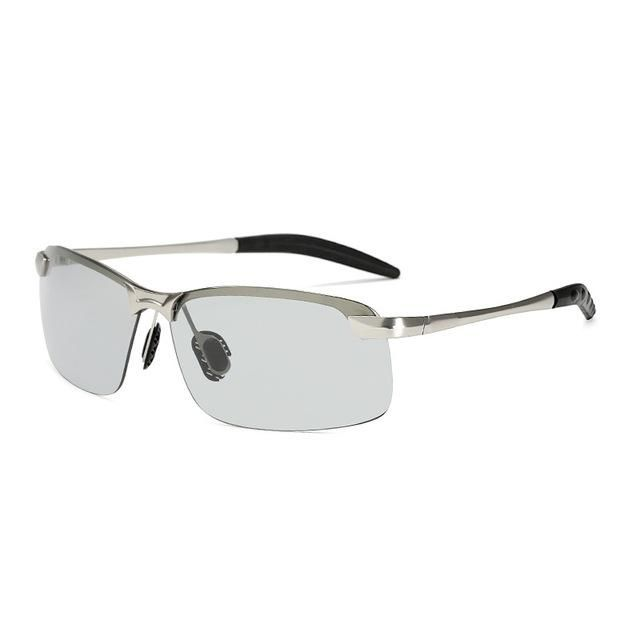 bbb7bf0640 UVLAIK Classic Driving Photochromic Sunglasses Men Polarized Chameleon  Discoloration Sun glasses for men Anti-glare Goggles 3043