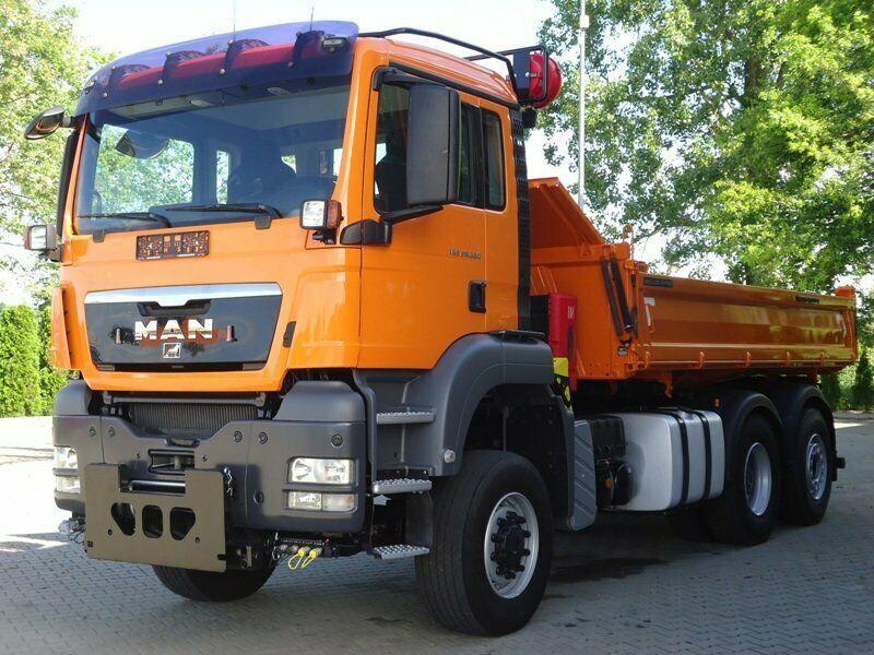 Tipper Man Tgs 28 360 6x4 4 Euro6 Dsk Mit Winterdienst In 2020 Commercial Vehicle Trucks Vehicles