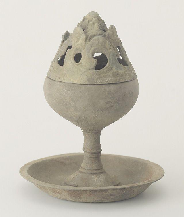Boshan-Type Bronze Incense Burner
