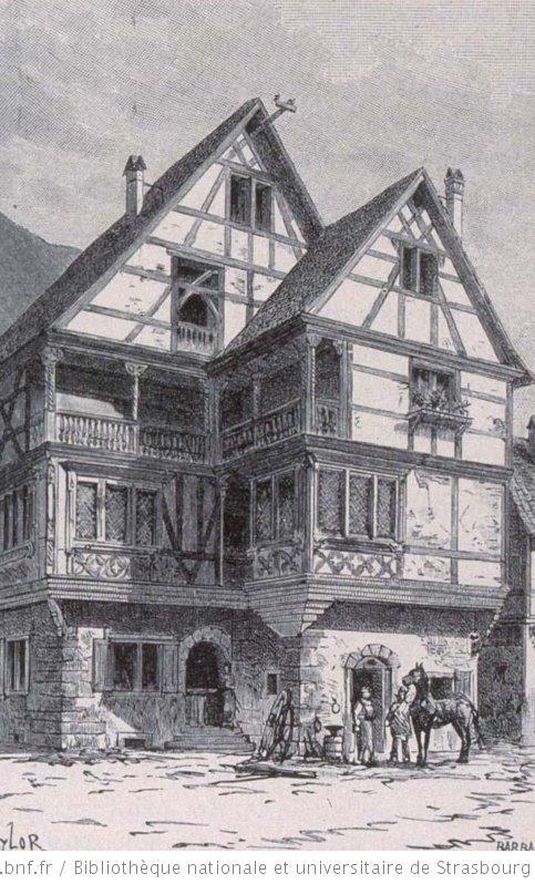 Maison du mar chal ferrant kaysersberg alsace - La table alsacienne kaysersberg ...