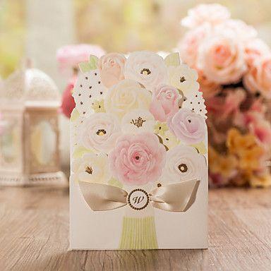 Convites+de+casamento+Cartões+de+convite+Dupla+Dobra-Portão+Personalizado+50+Peça/Conjunto+–+BRL+R$+236,18