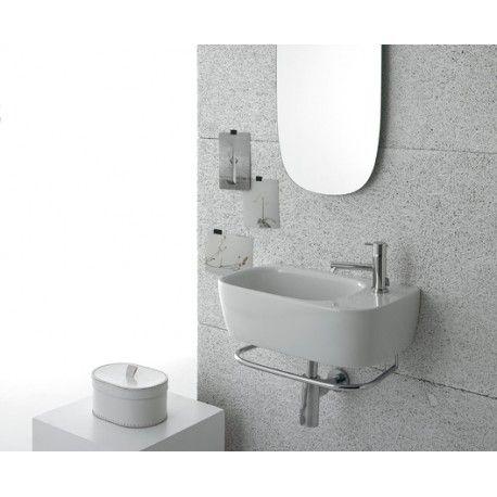 Globo Waschbecken waschbecken genesis 50 30 weiss ceramica globo ge047 bi bad