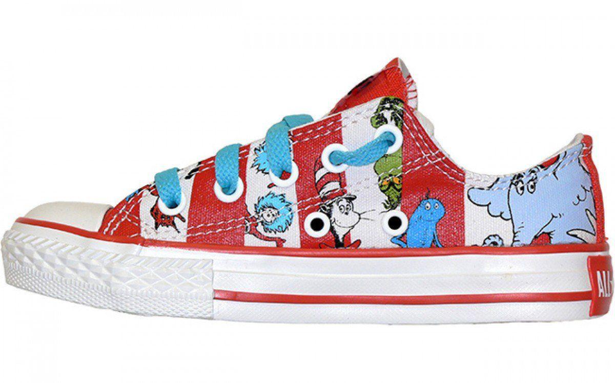Converse Chuck Taylor All Star Kids Low Top Dr. Seuss