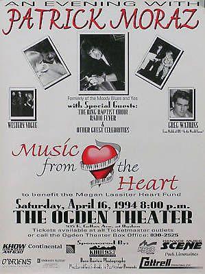 PATRICK MORAZ 1994 MUSIC FROM THE HEART