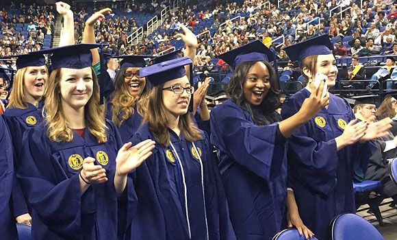 Uncg Graduates Celebrate Milestone On Social Media Campus Life