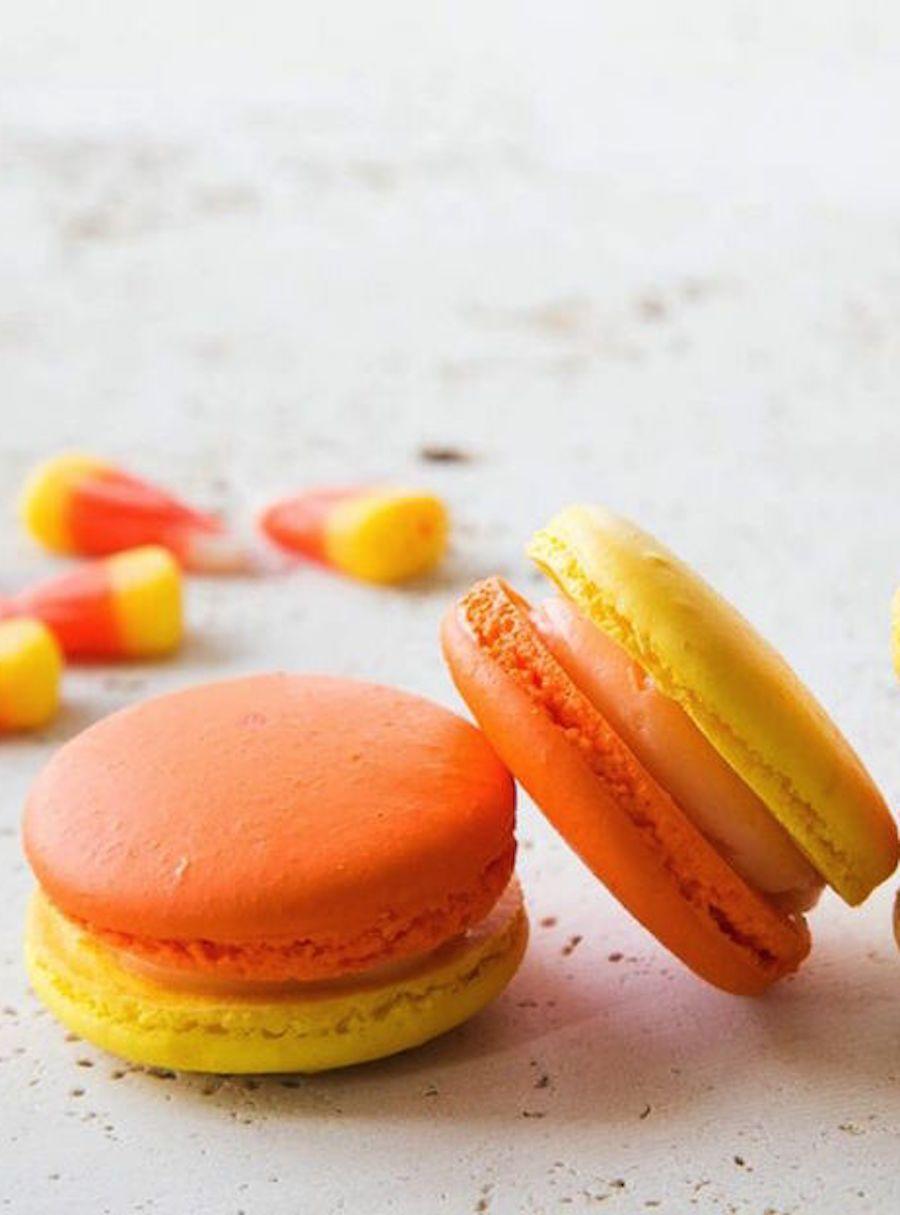 A Halloween Macaron Recipe #halloweenmacarons