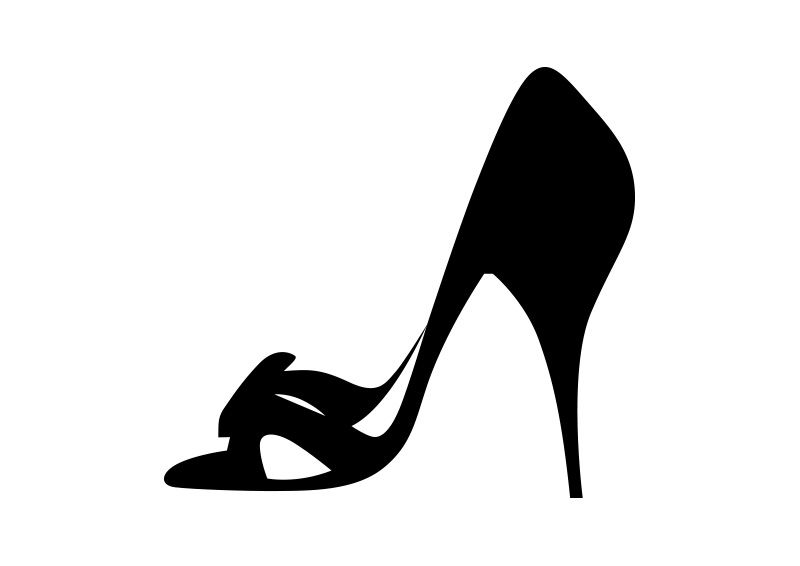 high heel shoe vector silhouette vector silhouettes pinterest rh pinterest com show victorious show victorian era movies free online