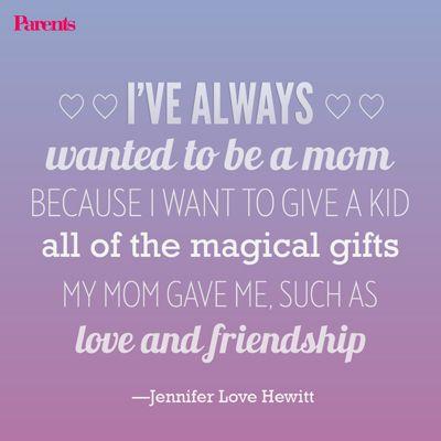 Jennifer Love Hewitt On Preparing For Her New Co Star Baby Sawyer