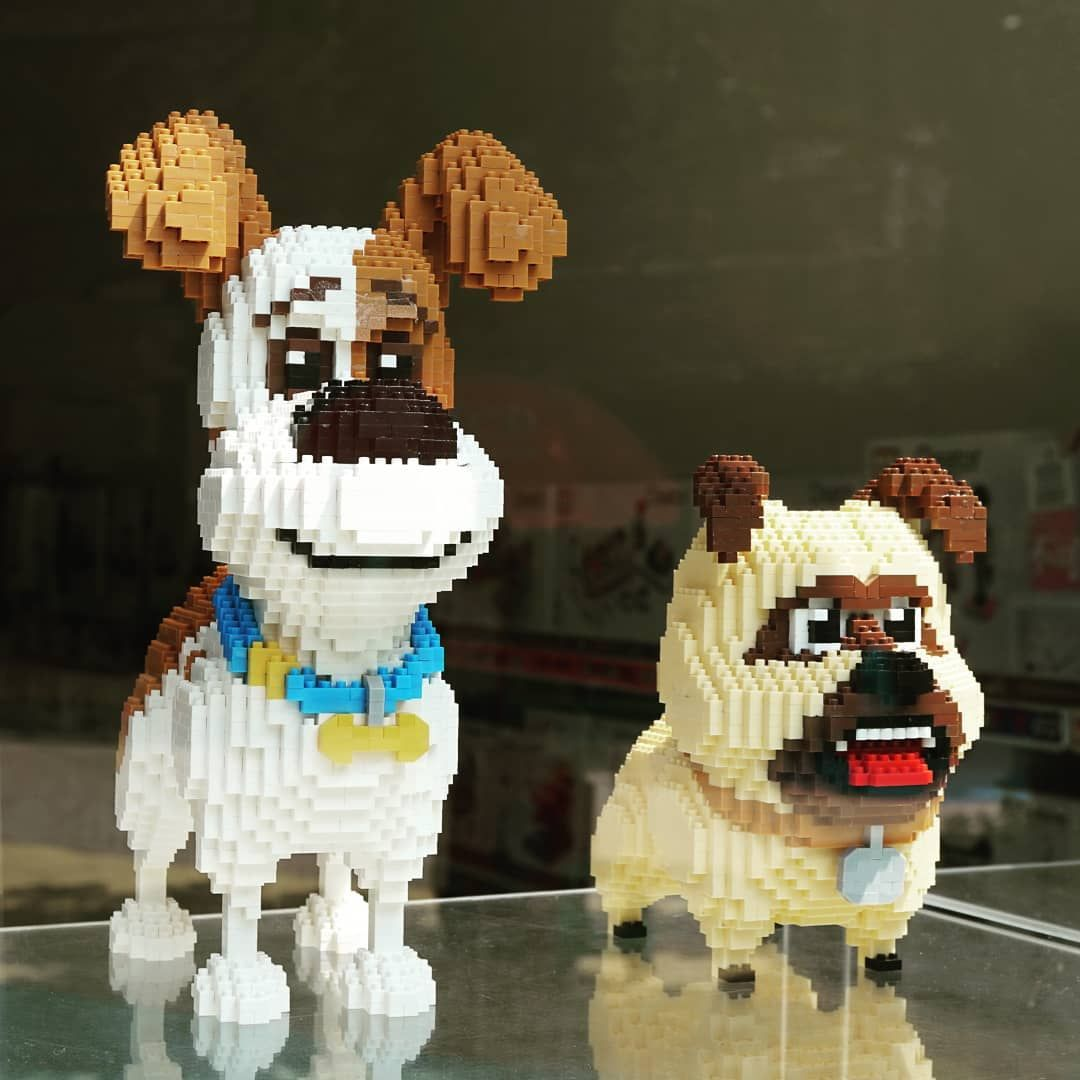 Secret Life Of Pets Nanoblock Nanoblocks Block Lego Toys Toys4life Toygraphyid Toysphotographyin Secret Life Of Pets Toys Photography Dog Lovers