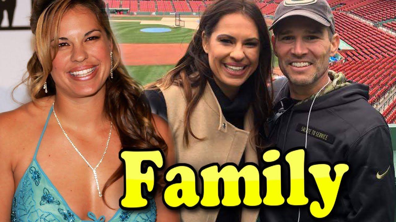 Jessica Mendoza Family With Son and Husband Adam Burks
