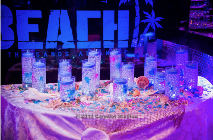 beach theme lighting. The Sands Unique Candle Lighting Display Beach Theme L