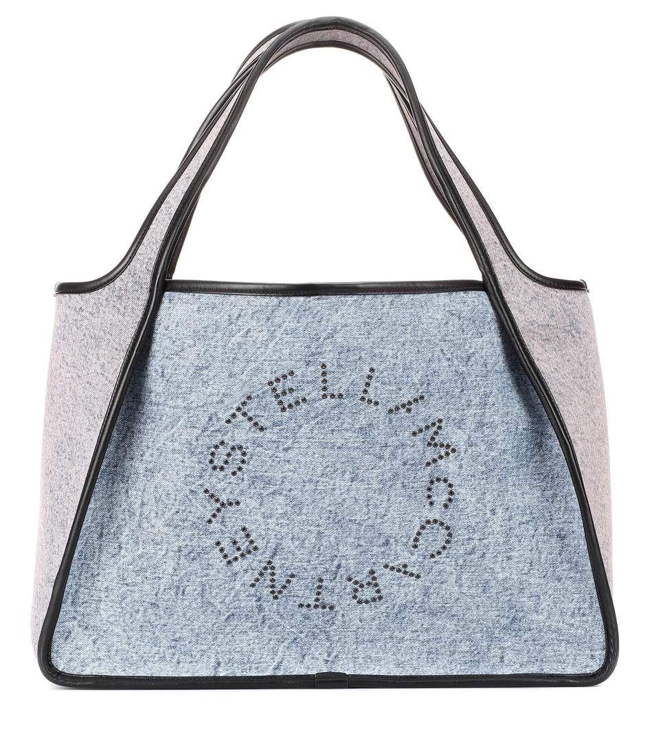 2cda7d4f08 Stella McCartney - Stella Logo denim tote