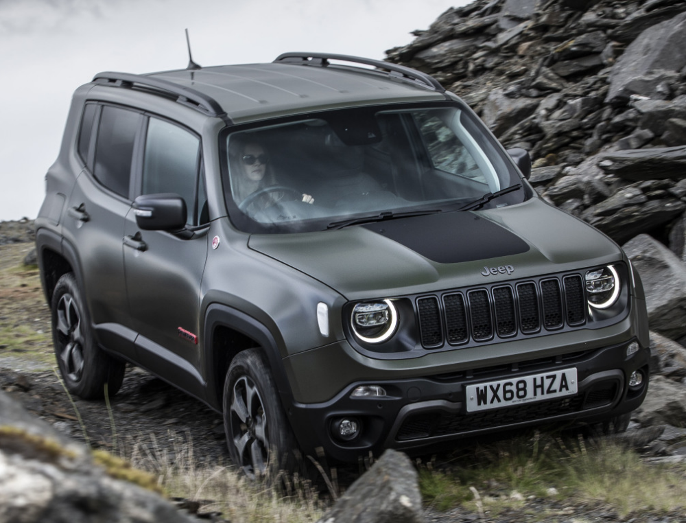 Jeep Renegade Trailhawk Bu 2018 Carros Camionete Hb20