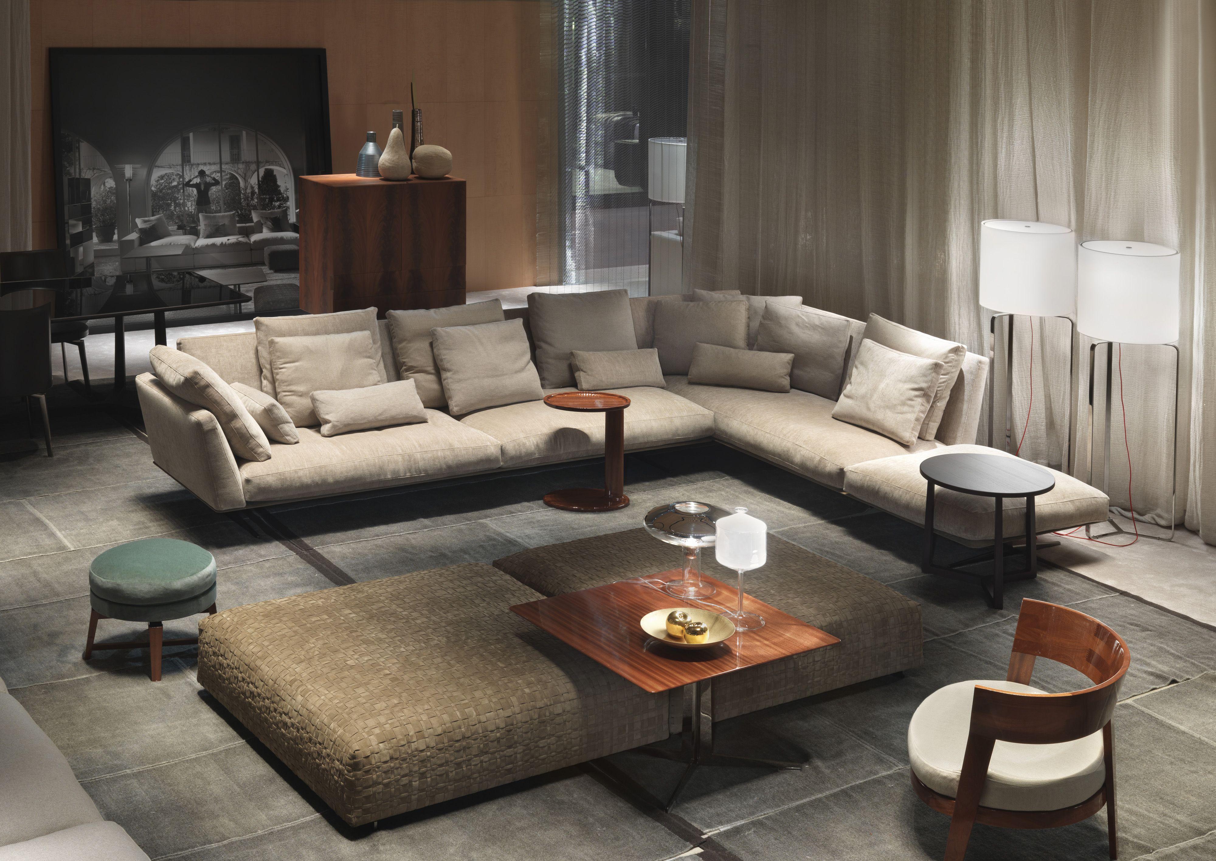 Modular sofa systems Seating Groundpiece Flexform