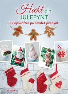 Hækl din julepynt - 25 forskellige slags hæklet julepynt