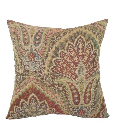 Another Great Find On Zulily Velora Paisley Woven Throw Pillow By Stunning M Kennedy Home Grand Paisley Decorative Pillow