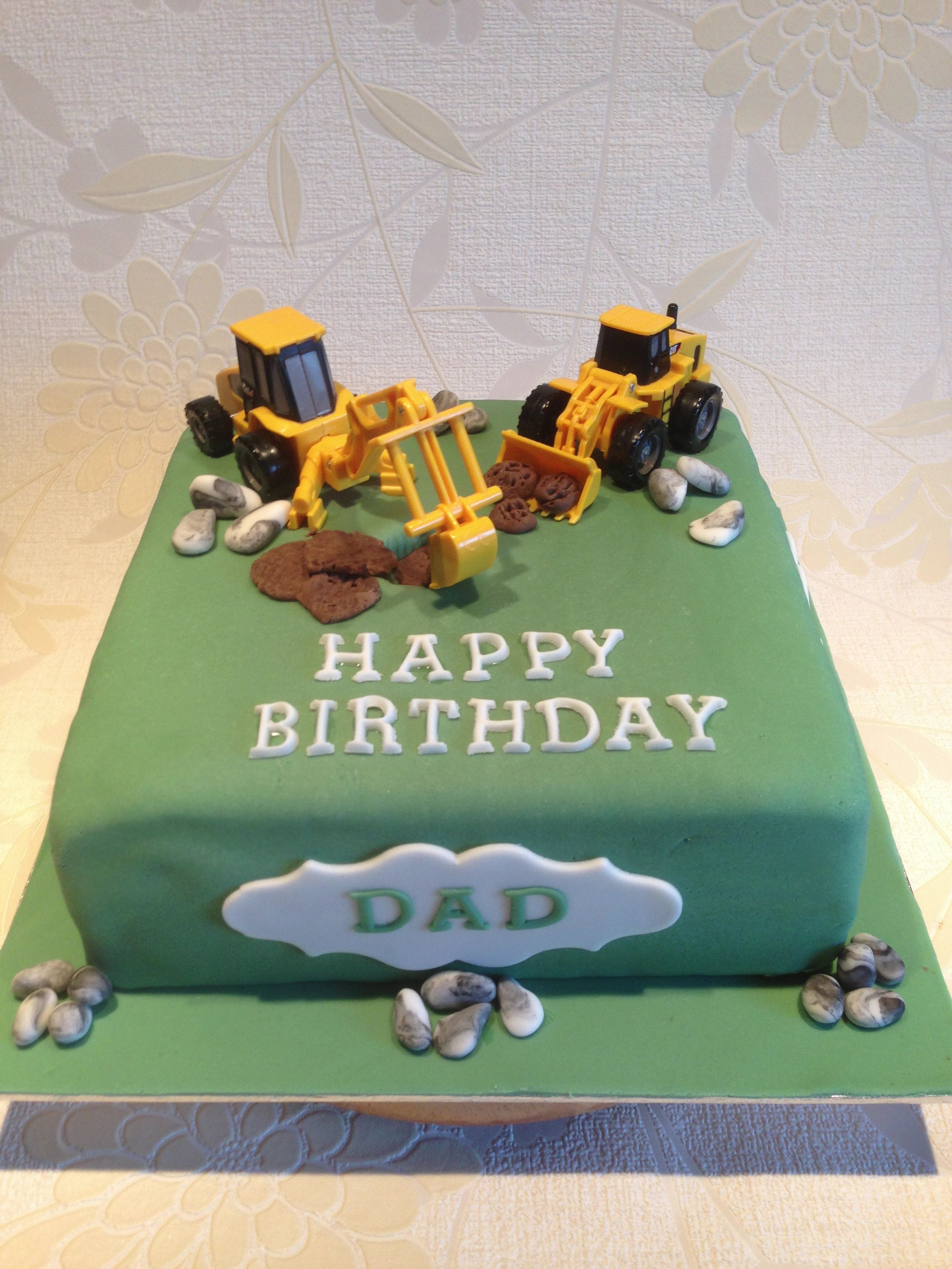 JCB Digger Birthday Cake Made By Butterfly Bakes Of St Neots Uk Xx