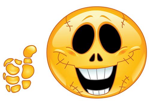 Skeleton Smiley Glck Pinterest Smiley Skeletons And Facebook