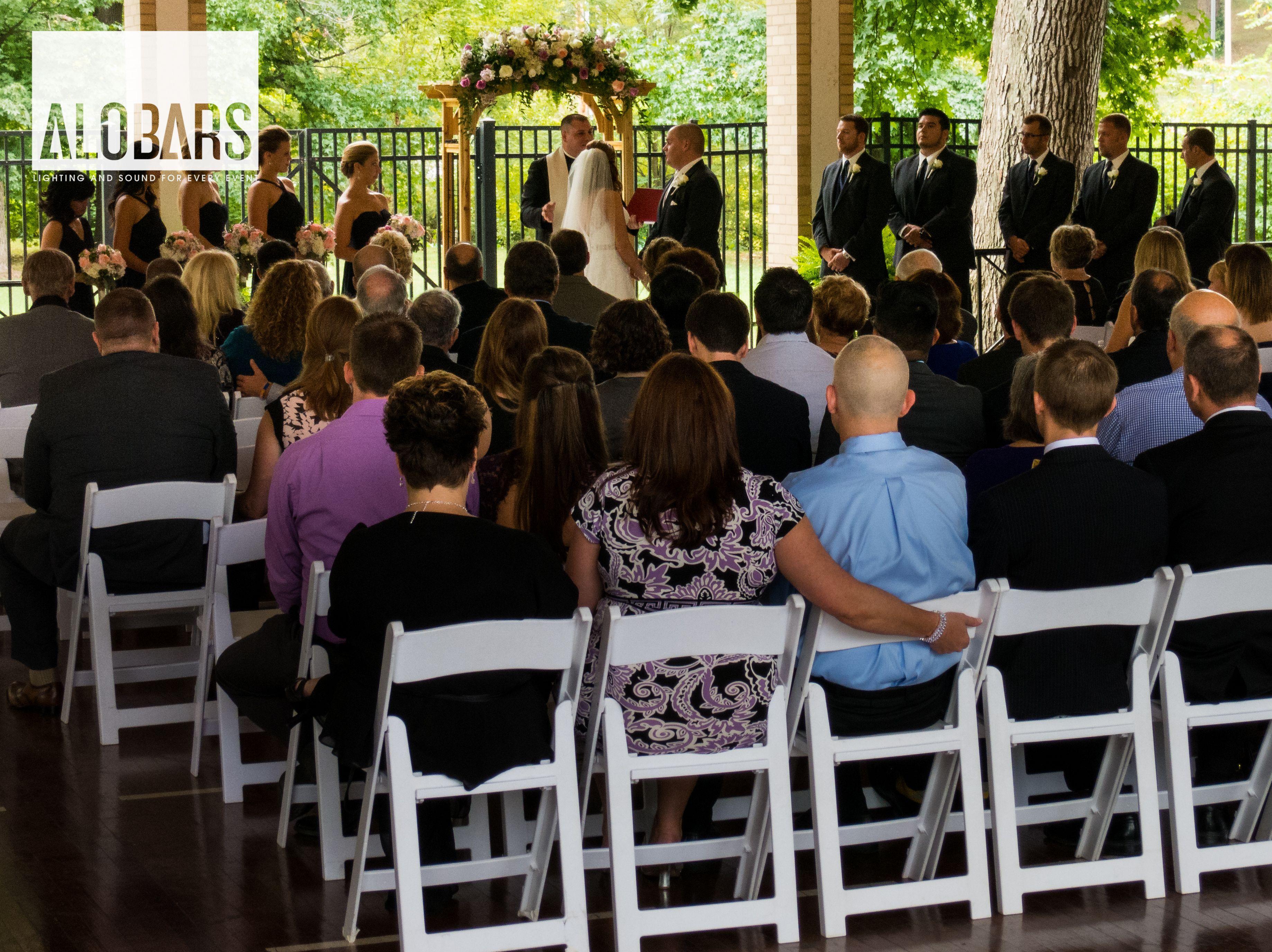 Sound System For Outdoor Wedding Wedding Reception Lighting