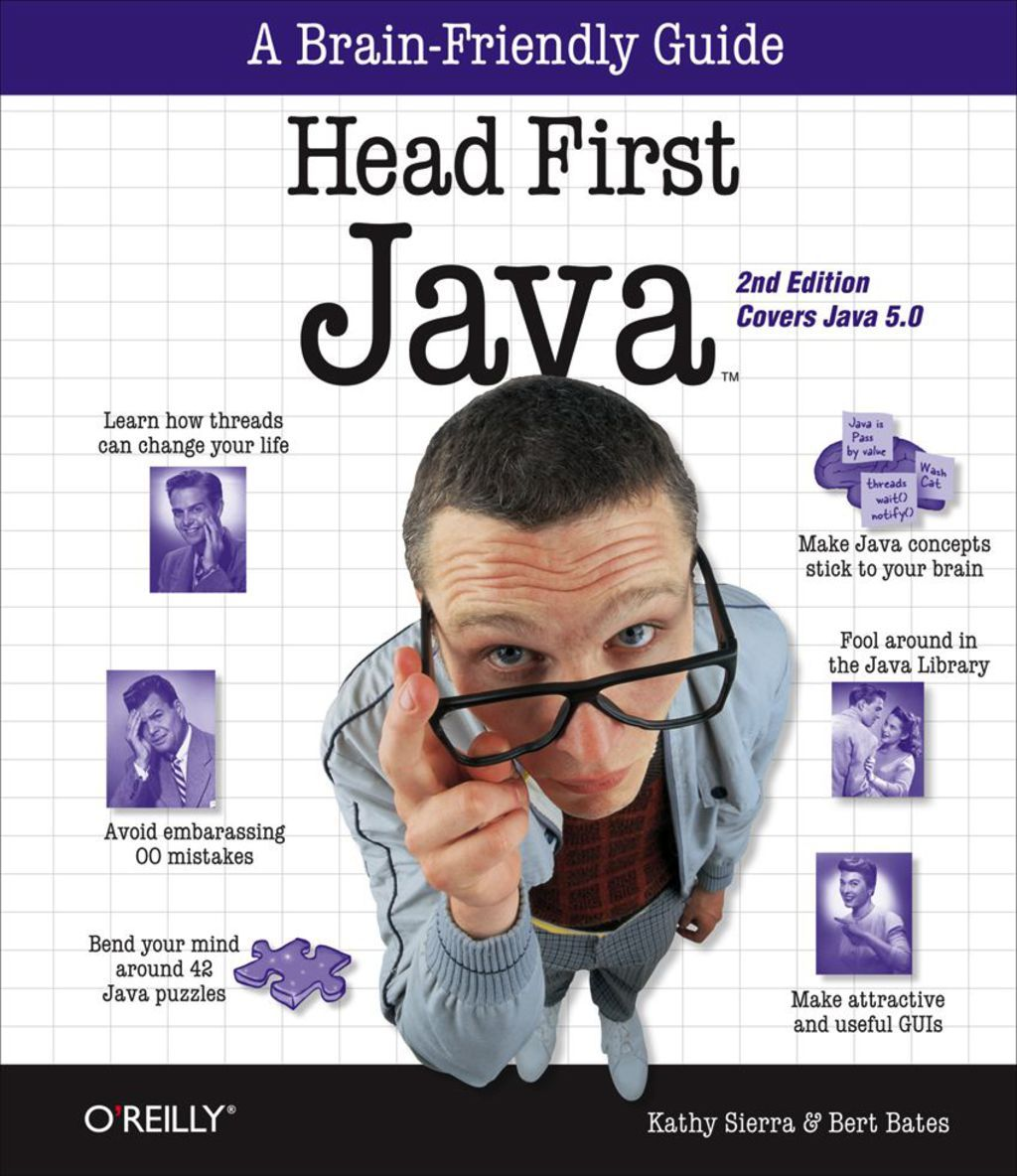 Head First Java Ebook Computer Programming Languages Good