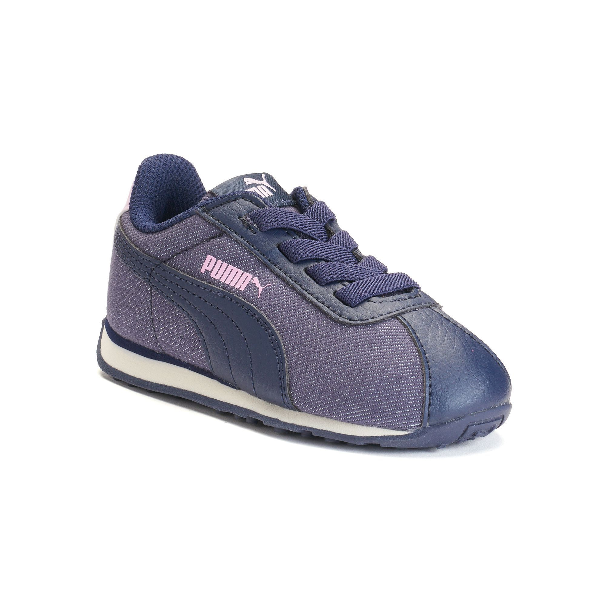 5ad453ed5edc PUMA Turin Denim AC Toddler Girls  Shoes