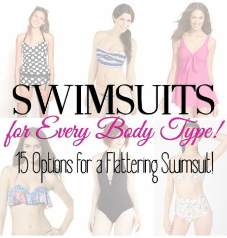16ea6e4003 Swimsuits for every body type -- easy way to find your most flattering look.