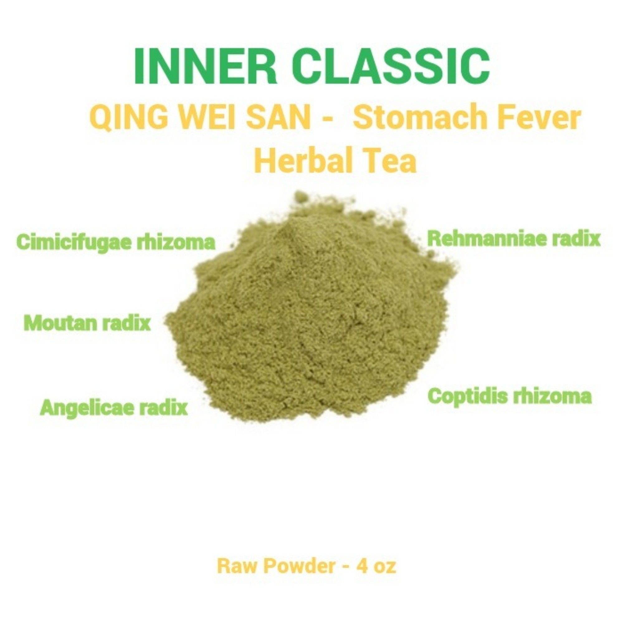 Qing Wei San Is Traditional Chinese Medicine That Is Used For