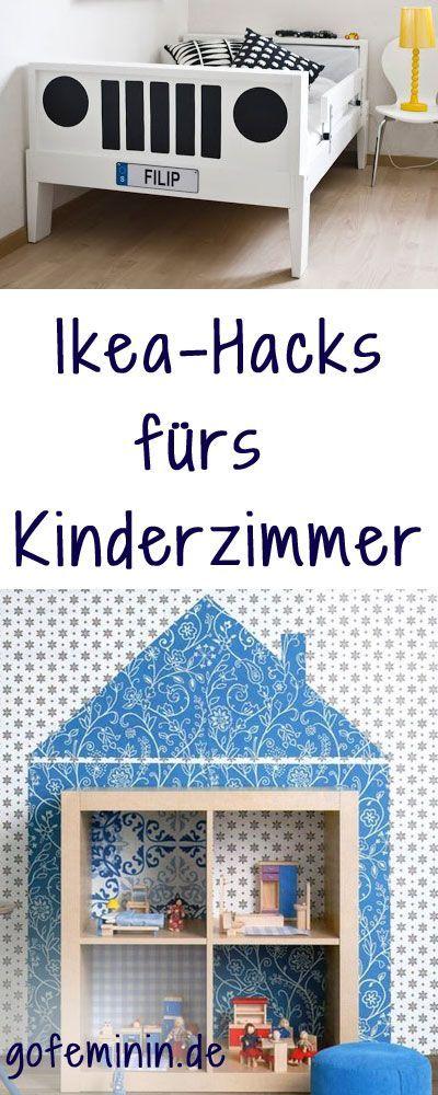 Mit Ein Paar Handgriffen Verwandelt Ihr Einfache Ikea Möbel In Tolle  Highlights Fürs Kinderzimmer. Wir Zeigen Euch Die Besten Ikea Hacks Für  Kids.