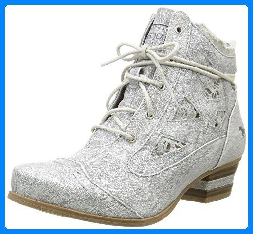 Mustang Damen 1187 502 Combat Stiefel, Silber Silber Silber (21 Silber), 38 EU ... 0ac30b