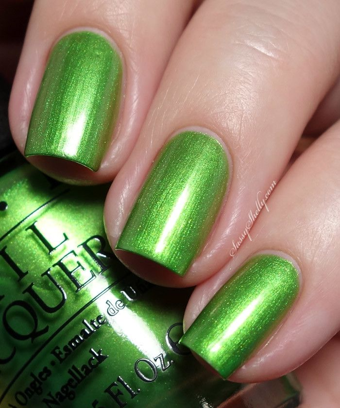 OPI Hawaii Collection swatches | Verde