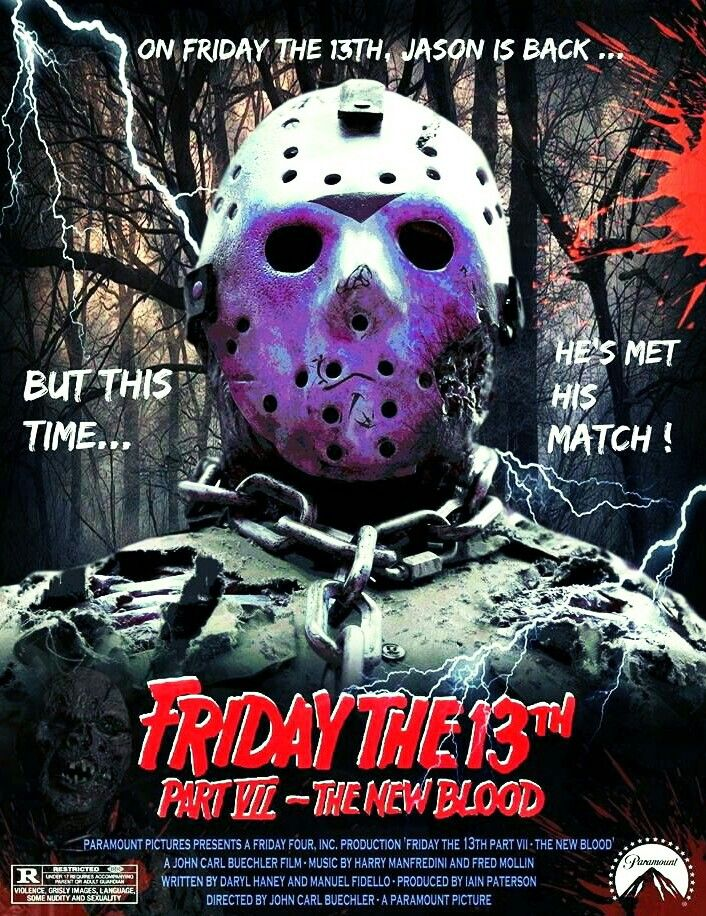 FRIDAY THE 13TH PART VII - THE NEW BLOOD  | Horror Movie