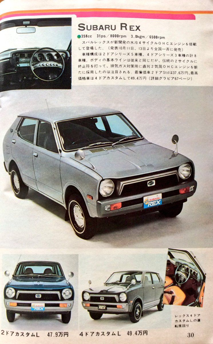 Subaru Rex 埋め込み Car Stuff I Like Pinterest Subaru