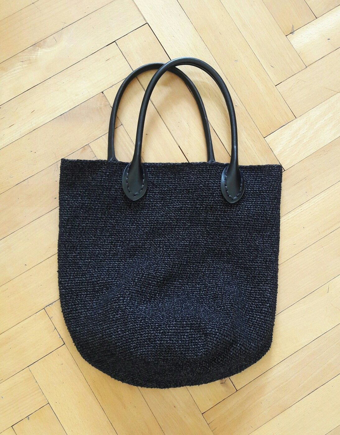 tasche geh kelt aus papier und seide ito my woolworks. Black Bedroom Furniture Sets. Home Design Ideas