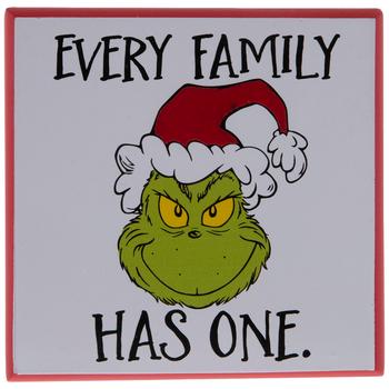 Dr Seuss Every Family Grinch Wood Wall Decor Hobby Lobby 205405113 Grinch Wood Wall Decor Christmas Projects Diy