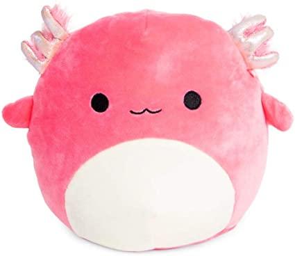 Amazon Com Squishmallows Axolotl Plush 8 Inch Pink Salamander Fish Toys Games Pink Stuffed Animals Cute Stuffed Animals Animal Pillows
