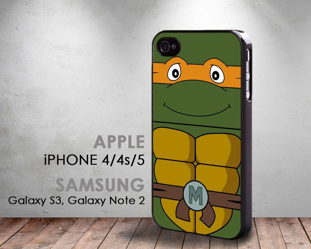 TMNT Michelangelo Teenage Mutant Ninja Turtles  iphone 4 by Case4U, $12.90