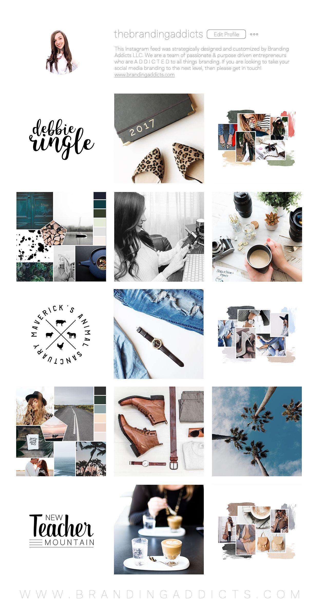 Custom Instagram Branding // Contact me to Book! Instagram