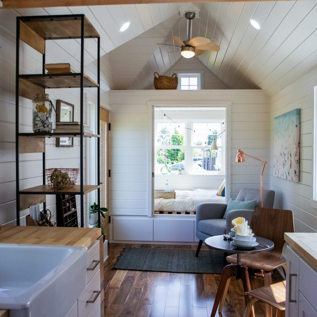 Payette 28 Footer With Main Floor Bedroom Arcia Floors Lots Of Upgrades Subscribe To Tiny House InteriorsTiny