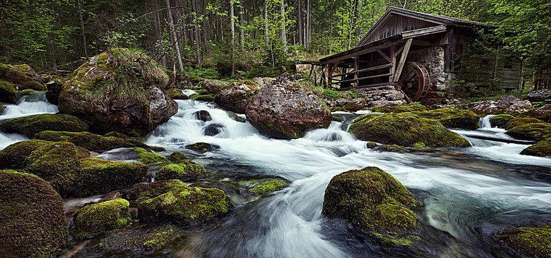 Waterfall River Stream Forest Waterfall Water Forest House Beautiful wallpaper house photo