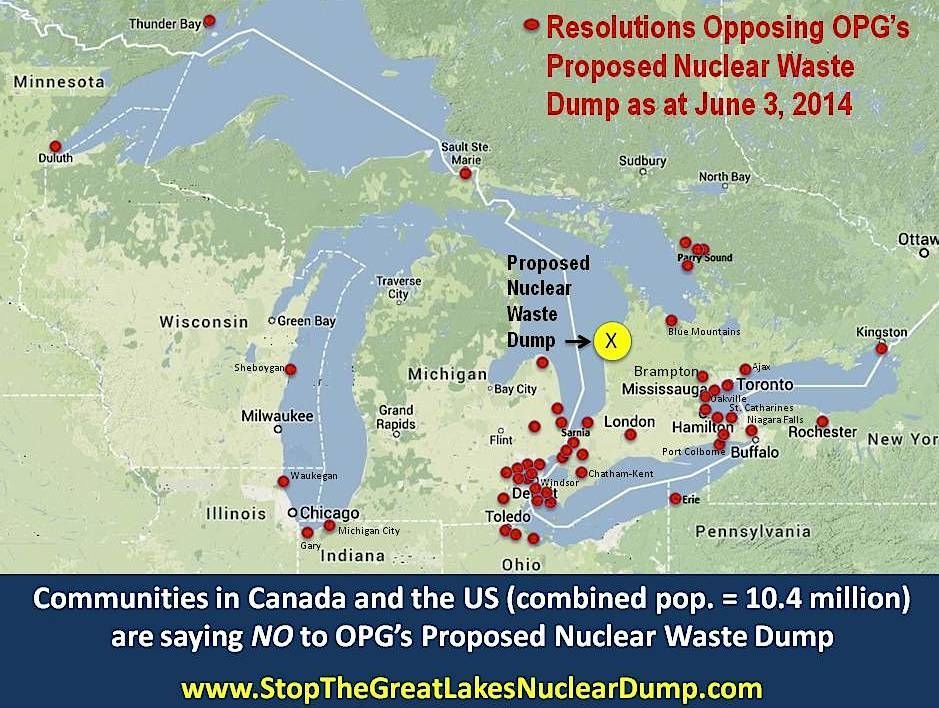 Environmental INSANITY! Millions of gallons of nuclear
