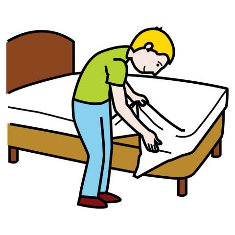 Imagenes de tender la cama animadas buscar con google - Dibujos para cabeceros de cama ...
